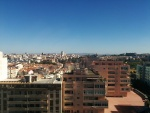 View from hotel in Lisbon