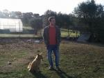 Joao and his dog